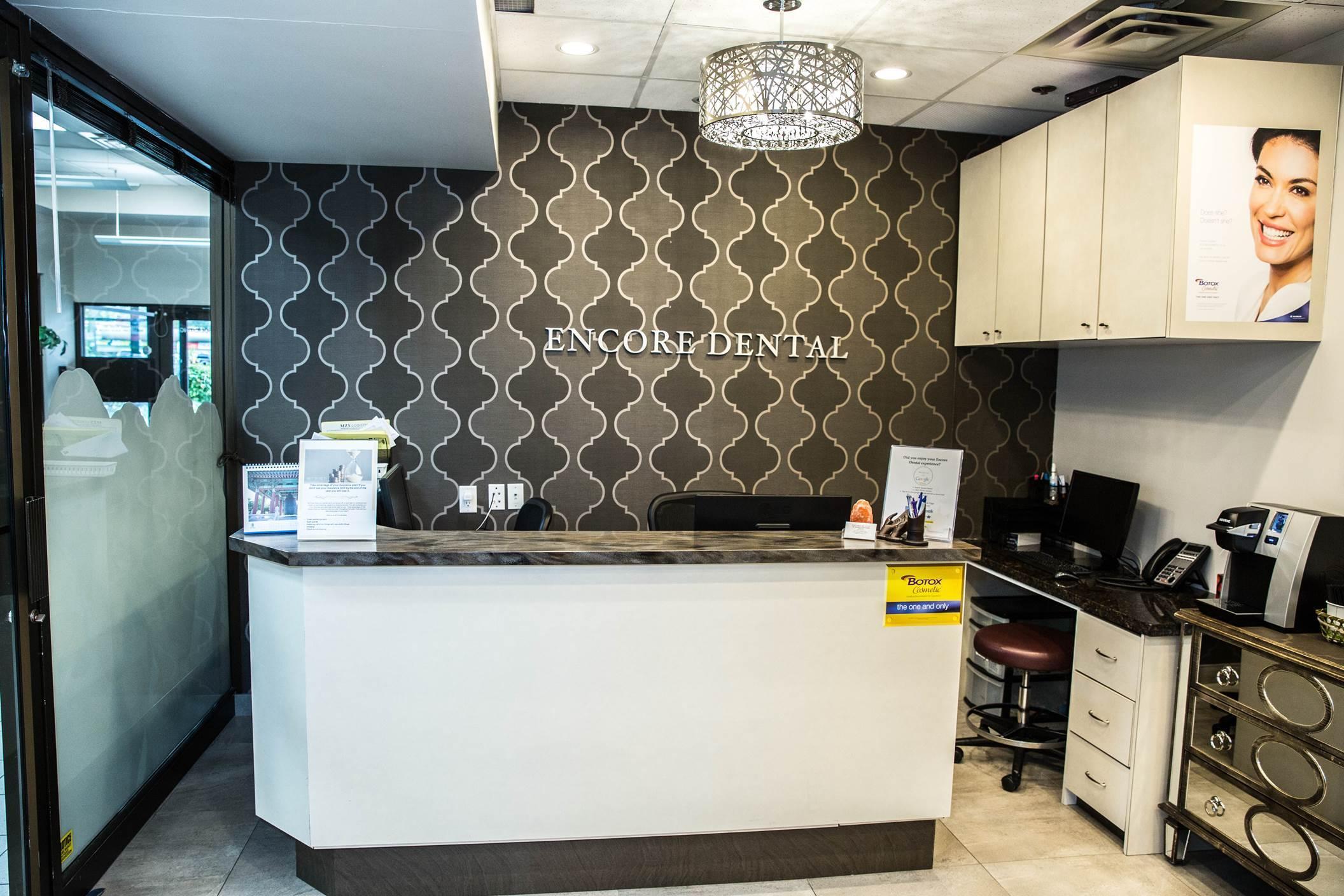 Port Coquitlam Dentist Reception Area